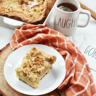 Organic Apple Spice Crumb Cake Recipe 1