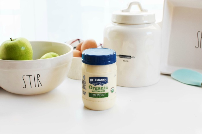 Organic Apple Spice Mayo Cake 1