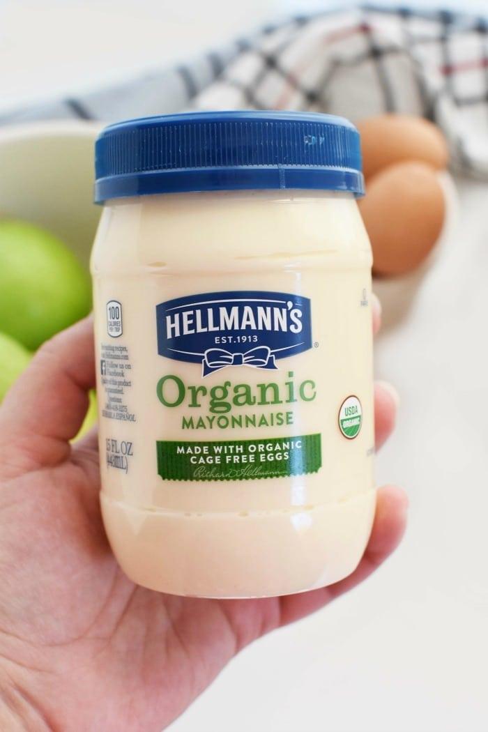 hellmanns organic mayo can 1