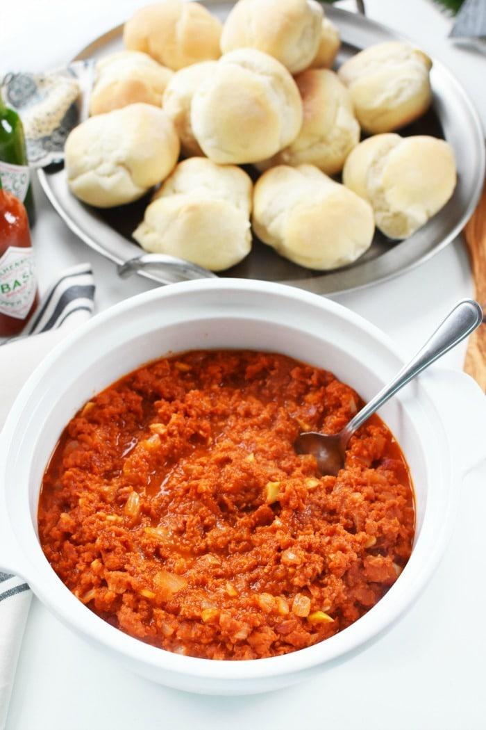 Chourico with Portuguese Bread 1