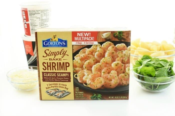 Gortons Shrimp Scampi Bake 1