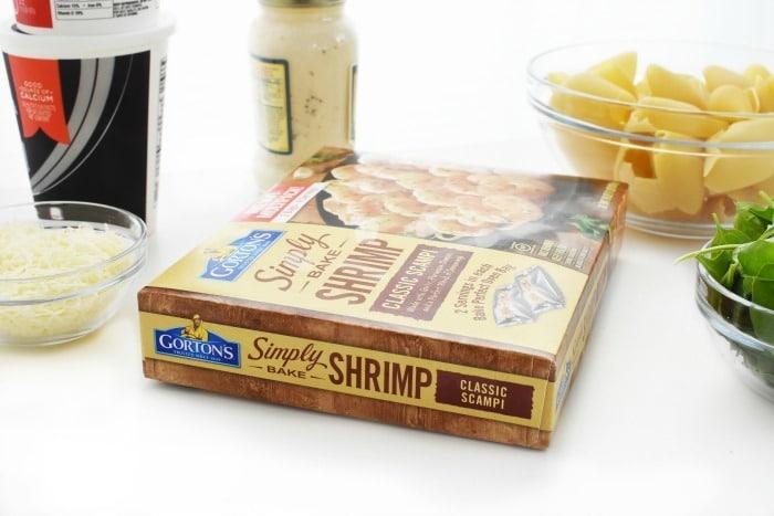 Gortons Shrimp Scampi Bakes Box 1