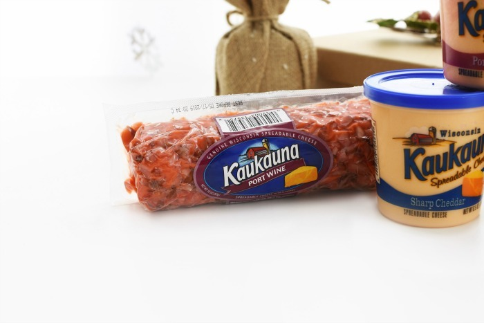 Kaukauna Port Wine Cheese Log 1