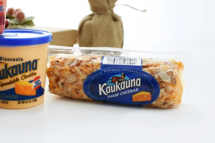 Kaukauna Sharp Cheddar Cheese Log 1