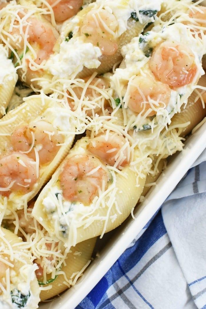 Shrimp Scampi Stuffed Shells Recipe 1