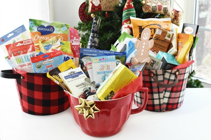 Healthy Food Gift Basket Ideas for Christmas & More!