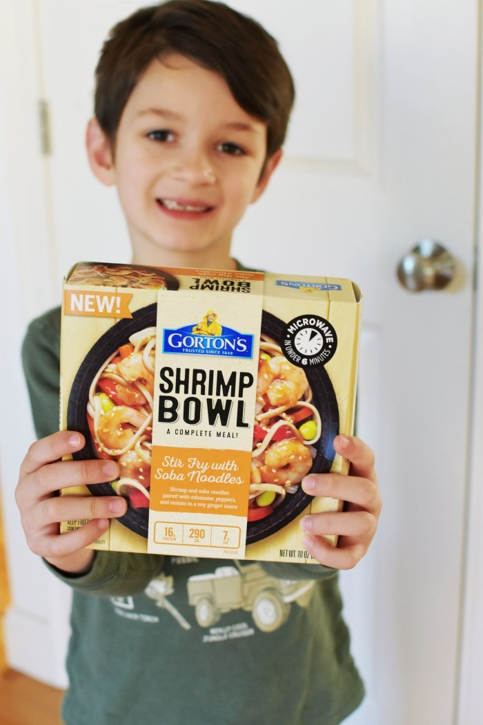 Gortons Shrimp Bowls Meal 1