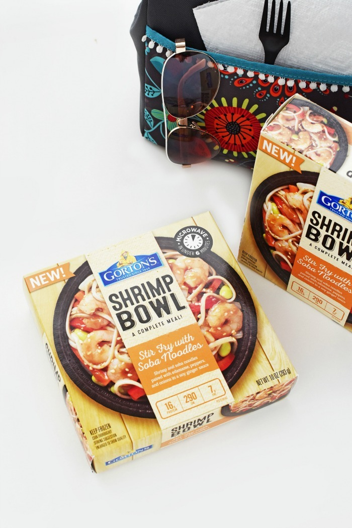 Gortons Shrimp Bowls with Lunchbox 1