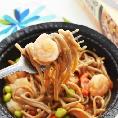 Gortons Shrimp Soba on Fork 1