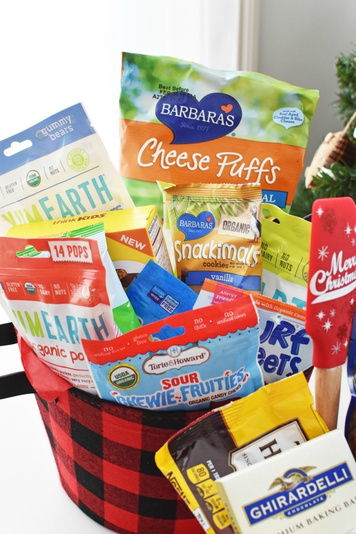 Kids Snacks gift basket 1