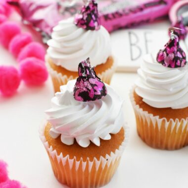 Kisses cupcakes 1