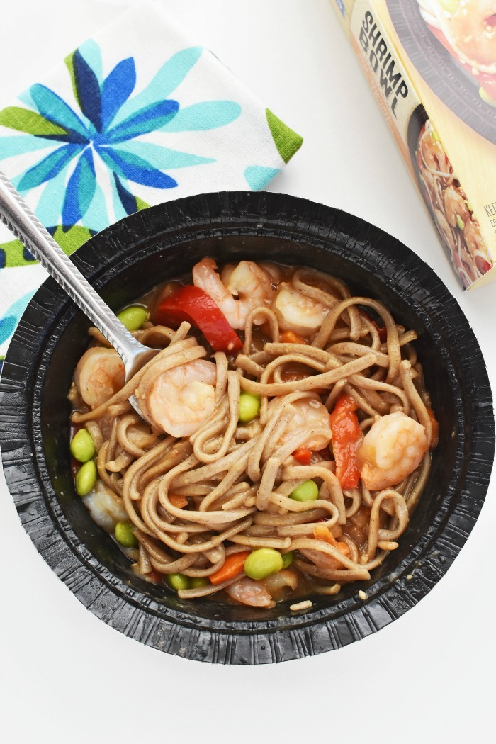 Shrimp Soba Stirfry bowl 1
