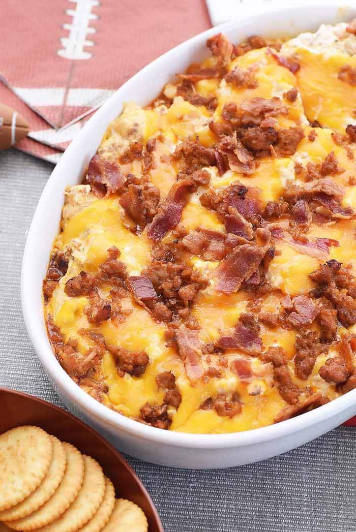 Bacon Sausage Dip Recipe 1