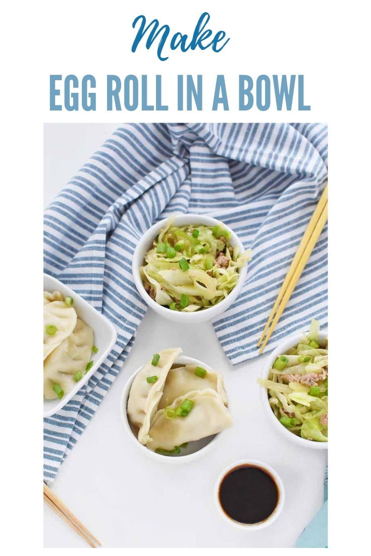 How to Make Eggroll in a Bowl- An easy, low-carb, nutritious recipe