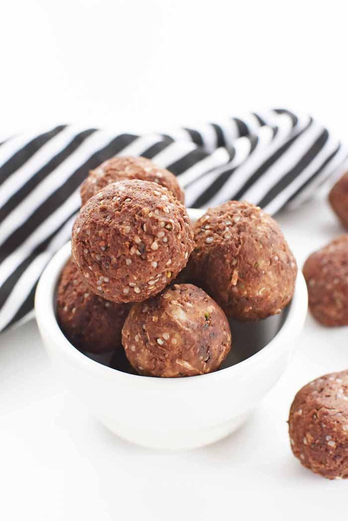 Low Carb Energy balls recipe 1