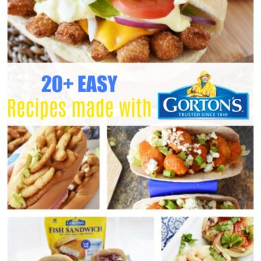 (20 ) 30-Minute or Less Seafood Recipes made with Gorton's Seafood products