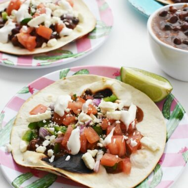 Black Bean Tostada Recipe
