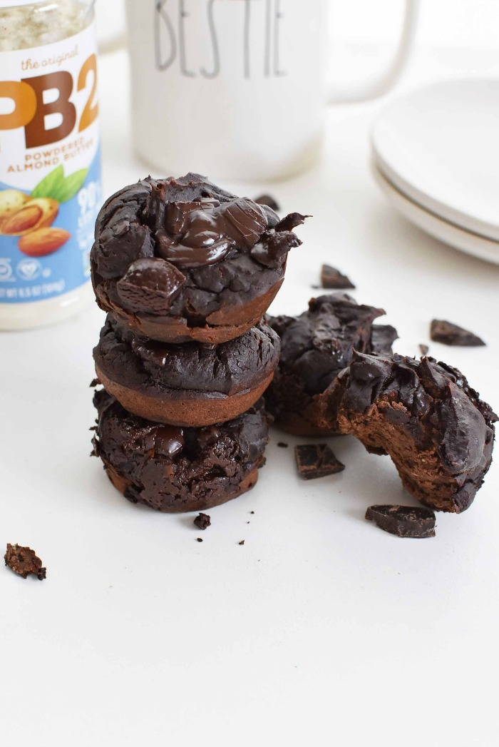 chocolate muffin with no flour 1