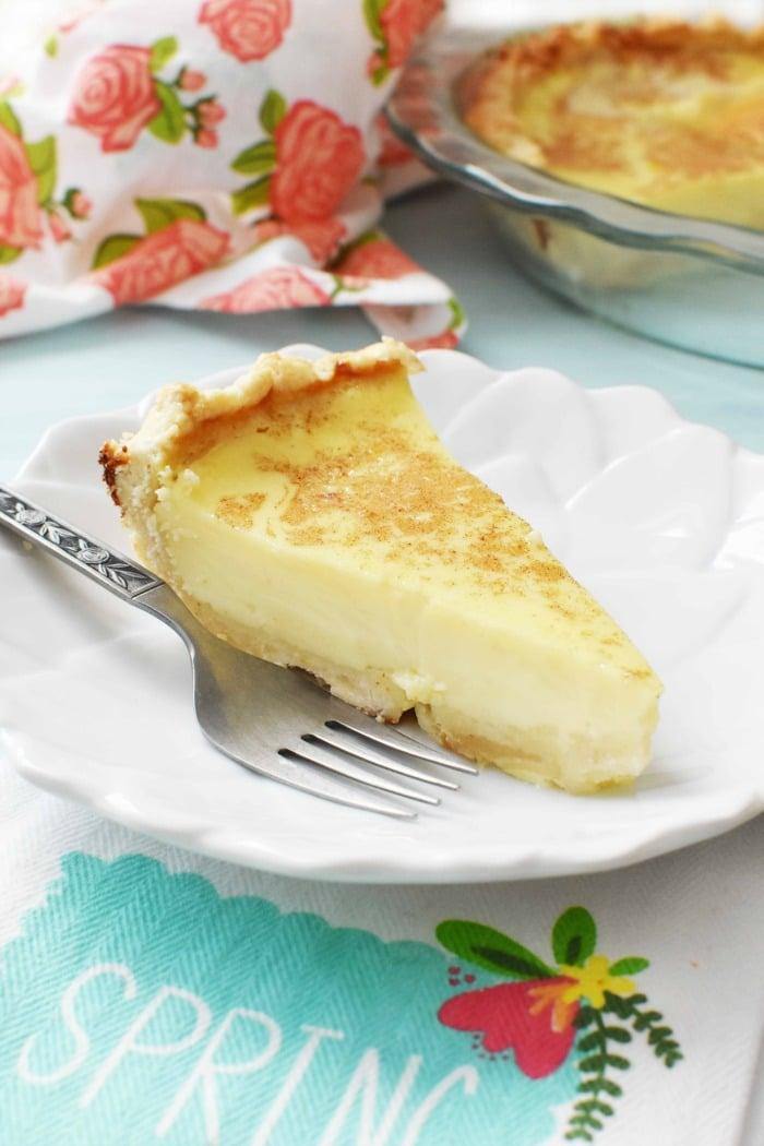 Custard Pie Recipe