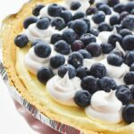 No Bake Blueberry Pudding pie 1