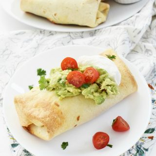 Oven Baked Chimichanga