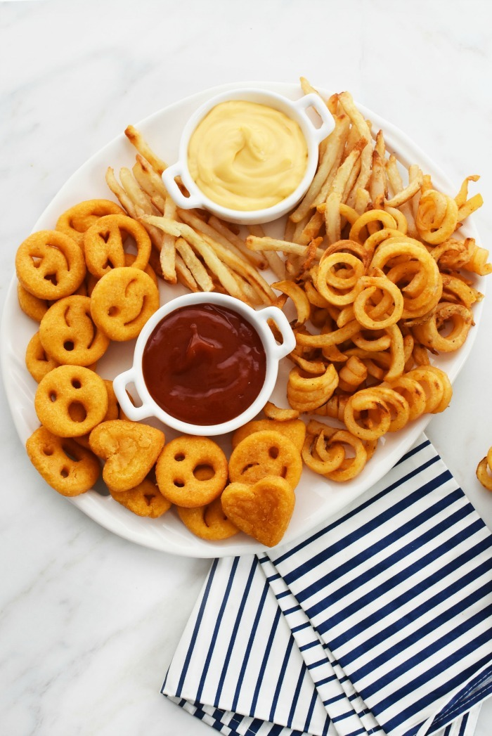 French Fries on Tray