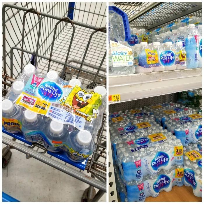 Spongebob water at Walmart