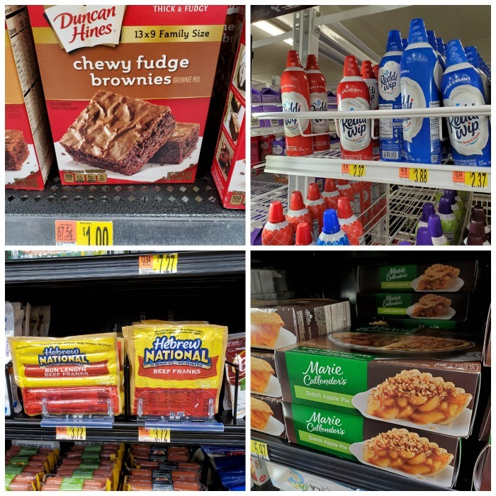 Cookouts essentials at Walmart