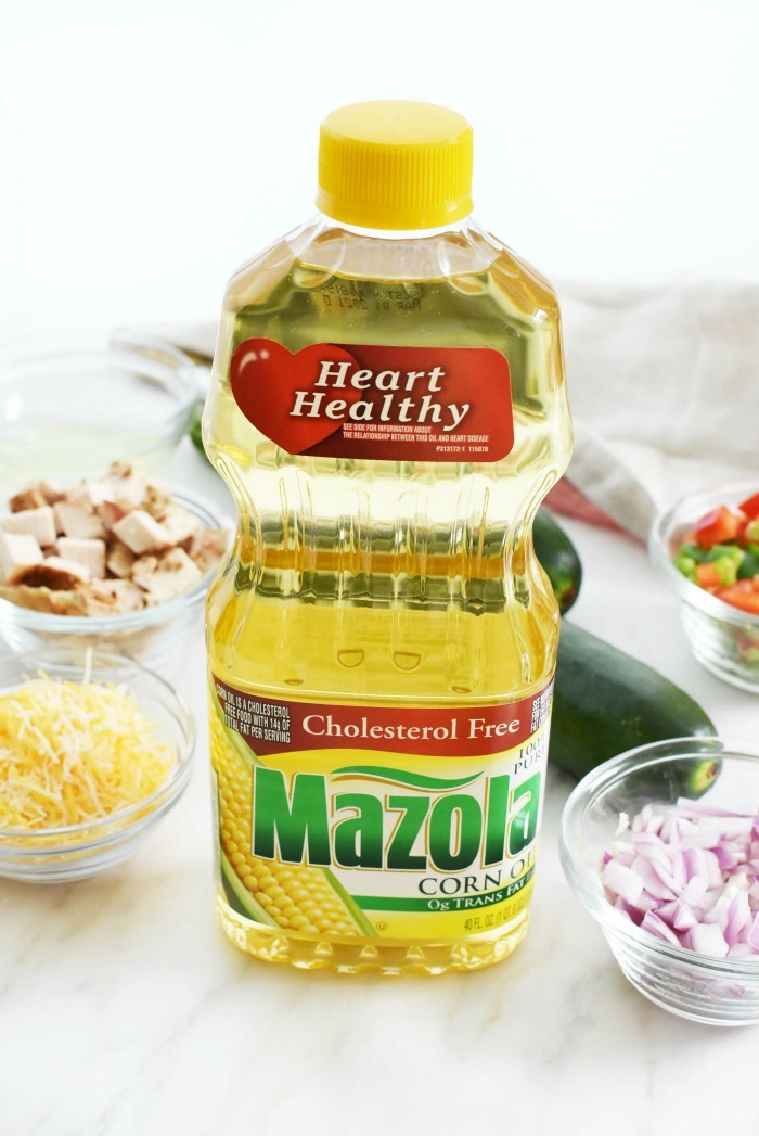 Mazola Corn Oil bottle