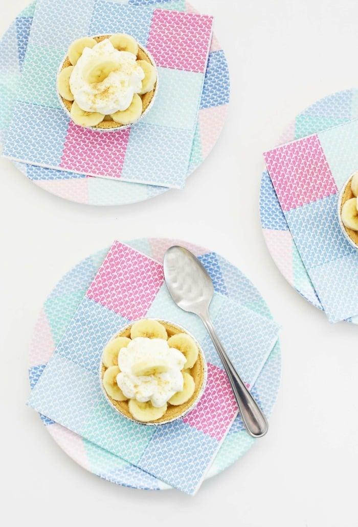 Mini Banana Cream Pies Recipe