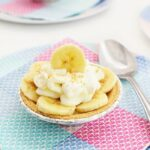 Mini No Bake Banana Cream Pies