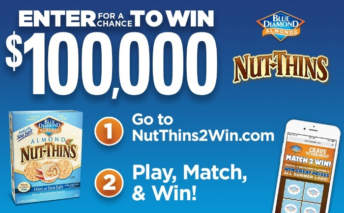 Almond Nut Thins sweepstakes