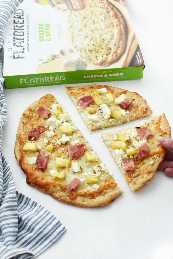 American Flatbread Cheese & Herb Pizza Hack
