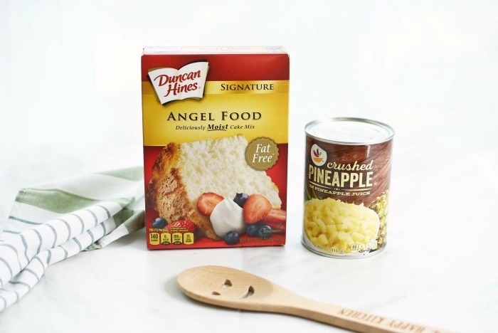 Angel Food Pineapple Cake ingredients