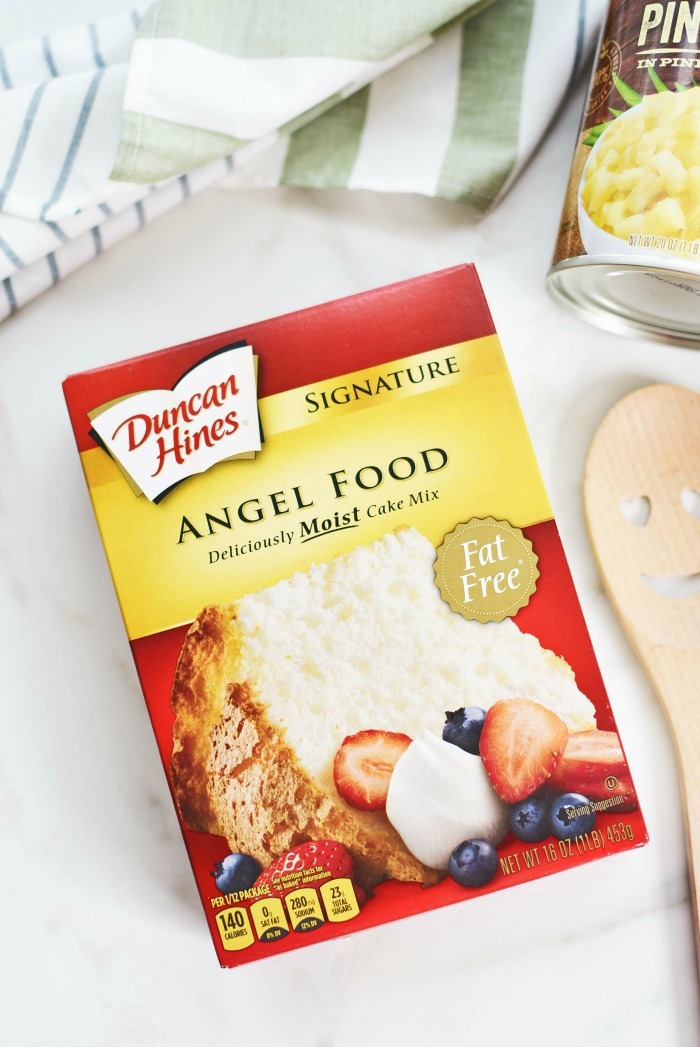 Angel Food cake box