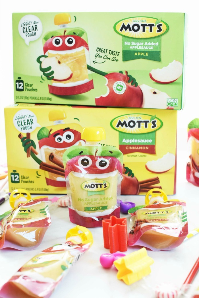 Applesauce Clear Pouches