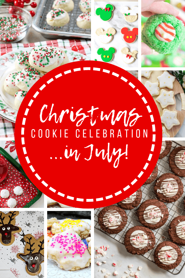 Christmas in July Cookie Post with Text Overlay