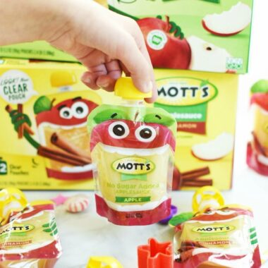 Clear Apple Sauce Pouches