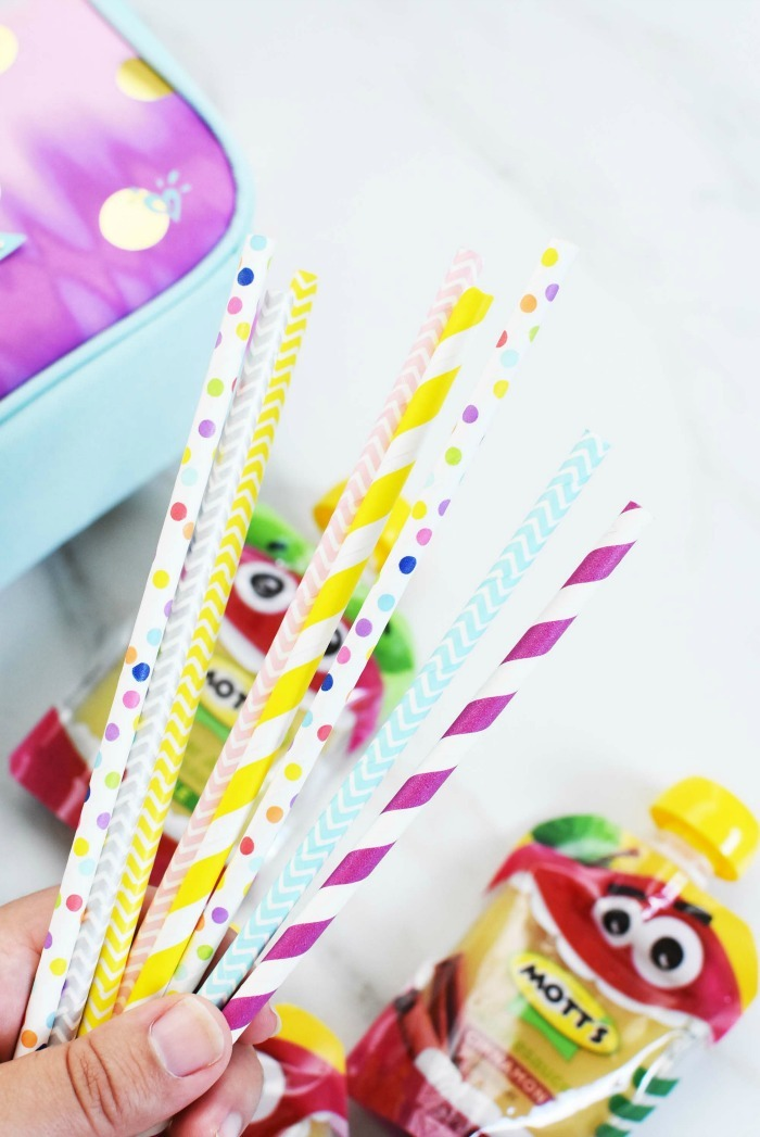 Colorful Paper Straws
