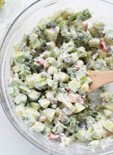 Cucumber Cracker Salad