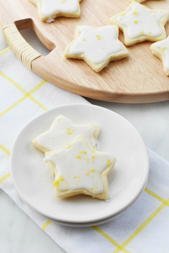 Iced Shortbread Cookies Recipe