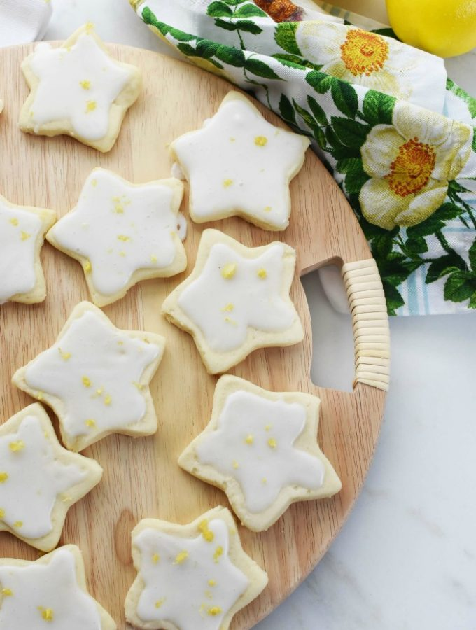 Lemon Star cookies