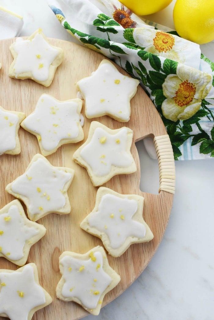 Lemon Star cookies