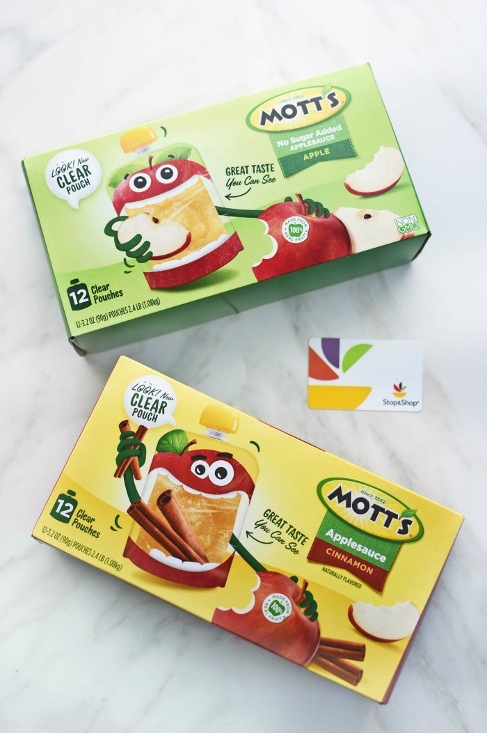 Mott's Clear Applesauce Packs