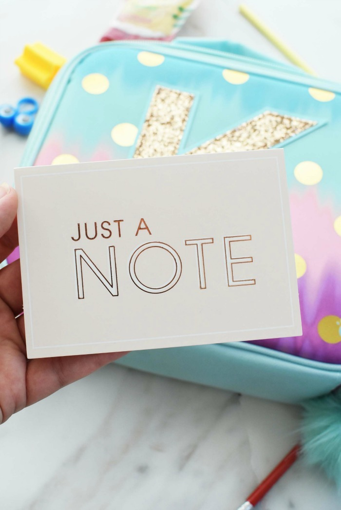 Note Cards for lunchboxes