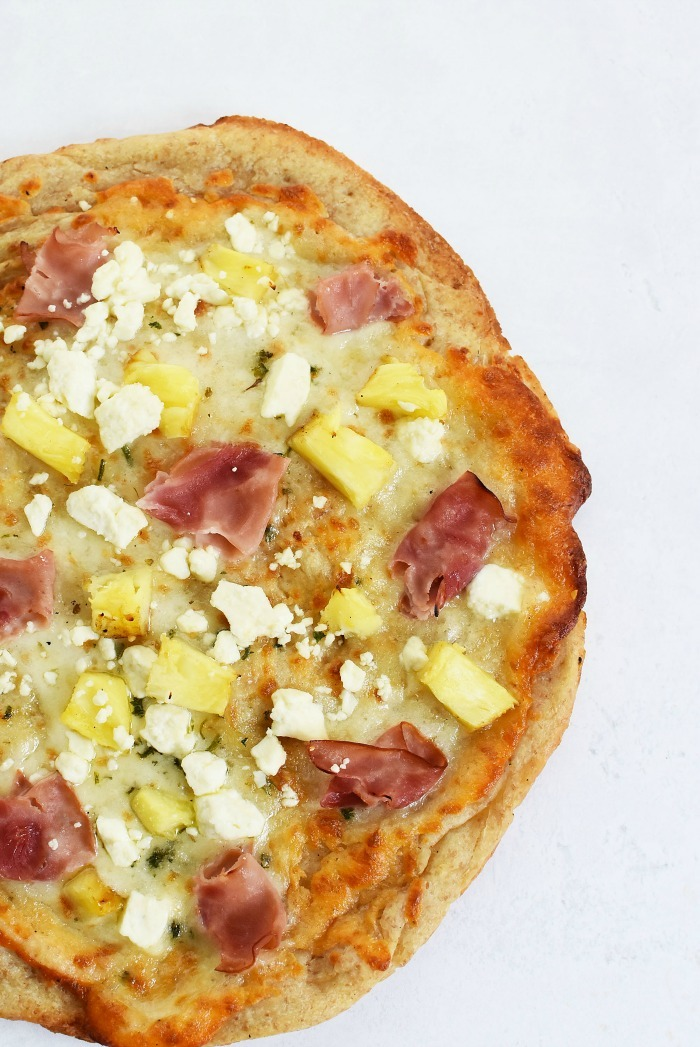 Pineapple Pizza with Feta