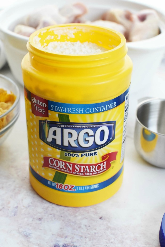 Argo Cornstarch new container