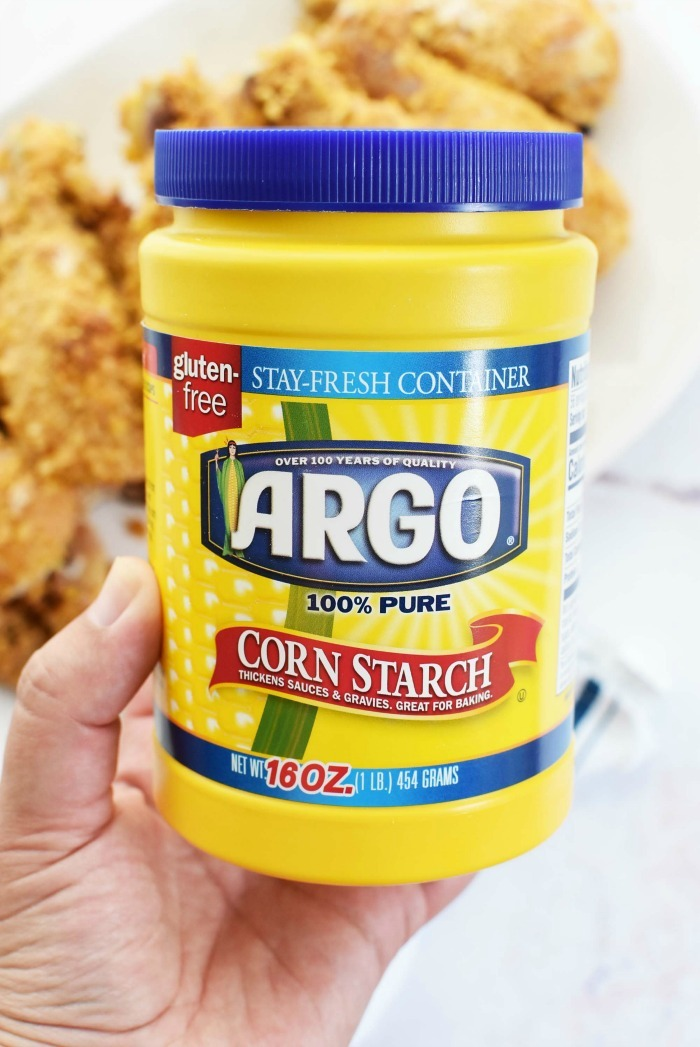 Argo cornstarch new bottle