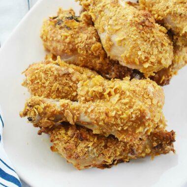 Cornstarch and Cornflake Chicken