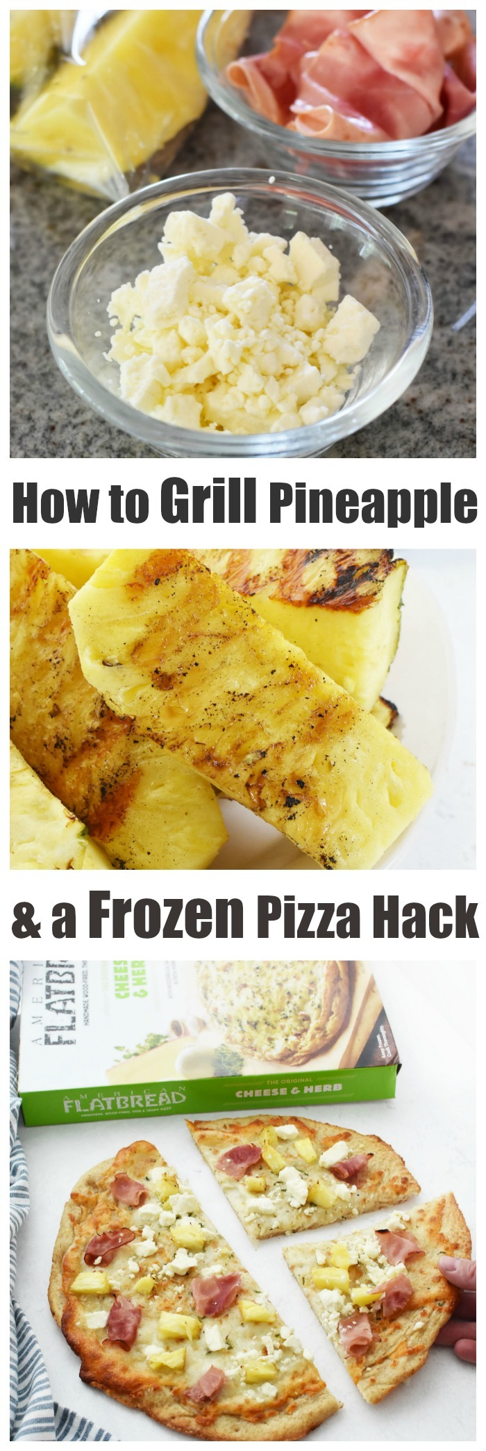 Grilled Pineapple & Ham Pizza Hack